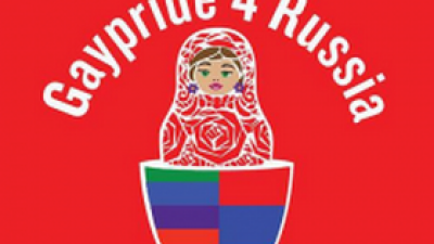 Logo Gaypride for Russia | PvdA