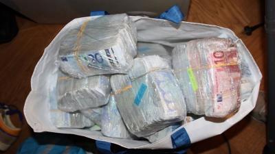 Ruim 1,4 miljoen euro misdaadgeld onderschept