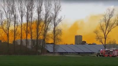 Heel Belgisch dorp ontruimd vanwege ontsnapt salpeterzuur