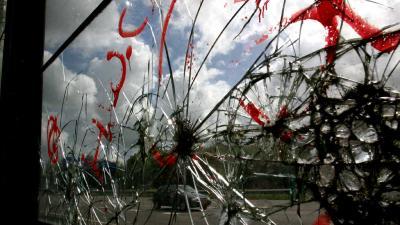 Glazen geluidswal Prinsenbeek niet beschoten met kogels