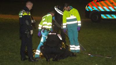 Politie schiet op verdachte na overval