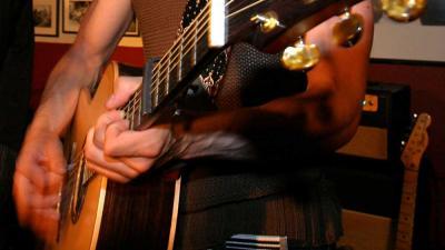 Foto van gitaar band muziek zang | Archief EHF