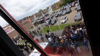 Onrustig in Deventer na degradatie Go Ahead Eagles uit Eredivisie
