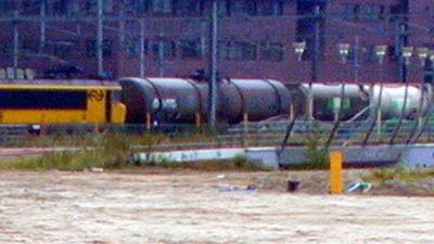 Foto van goederentrein met wagons | Archief EHF
