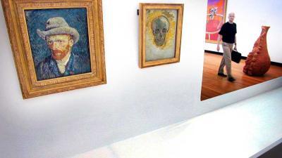 Foto van schilderij van Van Gogh | Archief EHF