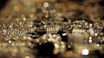 Foto van goud, sieraden, diamant   Archief EHF