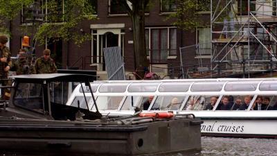 Amsterdam wil eenrichtingsverkeer voor boten op Prinsengracht