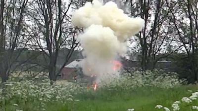 foto van granaat | Fort aan de Amstelhoek
