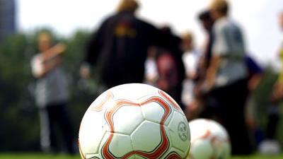Foto van training voetbal | Archief EHF