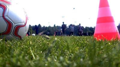 Foto van voetbalveld   Archief EHF