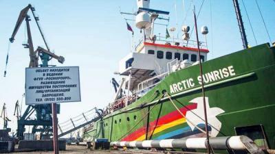 greenpeace schip, mileubeweging