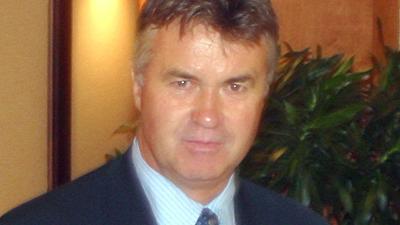 Foto van Guus Hiddink   Archief EHF