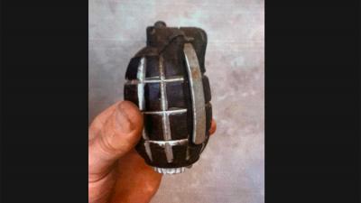 handgranaat-politie