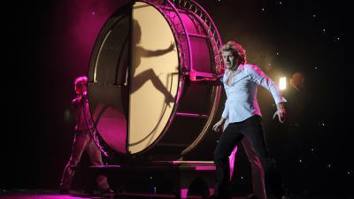 Hans Klok tijdens show