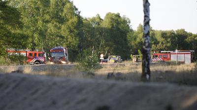 Foto van heidebrand brandweerwagens | BON