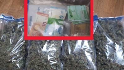 Tien kilo henneptoppen en 15.000 euro cash in woning aangetroffen