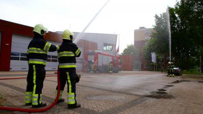 Brandweer herdenkt omgekomen brandweerlieden