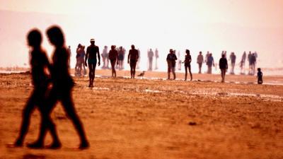 Foto van hittegolf op strand | Archief EHF