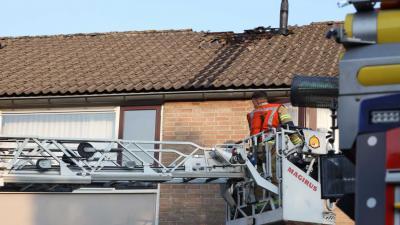 hoogwerker-brand-dak
