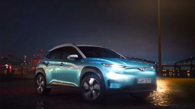 Allereerste foto's en video van Hyundai KONA Electric