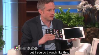Illusionist met i-Pad doet je versteld staan