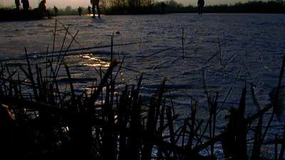 ijs-schaats-donker-riet-winter