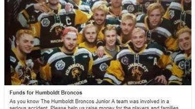 Zeker 14 slachtoffers na busongeval Canadees junior ijshockeyteam