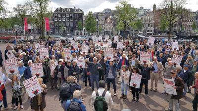 Demonstratie tegen erfpacht