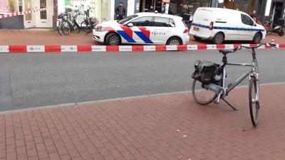 Politie aanwezig voor onderzoek
