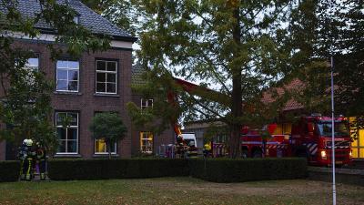 Veel rookontwikkeling bij brand zorginstelling in Heeswijk-Dinther