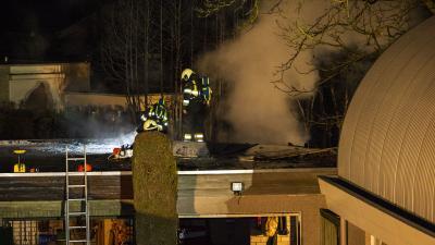 Uitslaande brand verwoest oldtimer in Oirschot