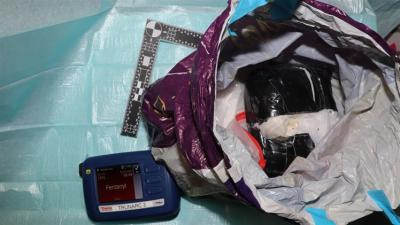 Ruim kilo fentanyl in beslag genomen