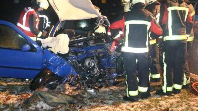 Dodelijk ongeval op N34 nabij Zuidlaren.