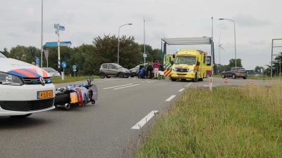 Motorrijder gewond bij aanrijding in Delfzijl