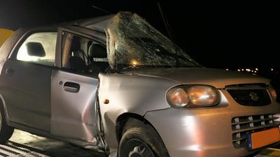 Grote schade bij eenzijdig ongeval