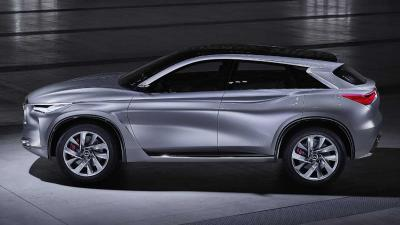 QX Sport Inspiration, een gedurfde nieuwe SUV-visie van Infiniti