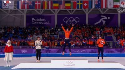 Irene Wüst pakt het goud op de 1.500 meter