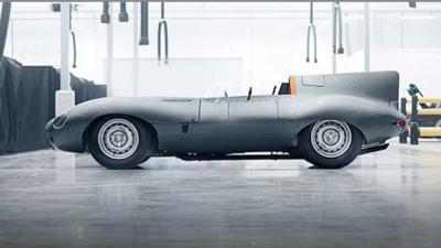 Jaguar neemt de legendarische D‑type raceauto weer in productie