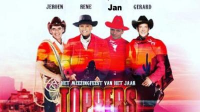 Topper nummer vier is Jan Smit