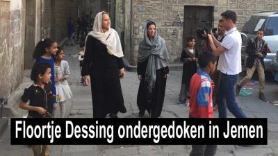 Medewerkers Nederlandse Rode Kruis en Floortje Dessing vast tussen gevechten in Jemen