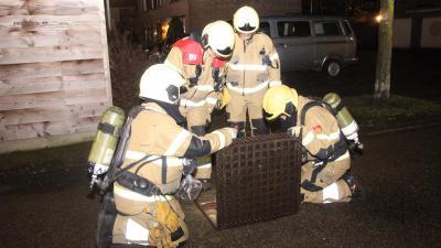 Brandweer onderzoekt vreemde lucht