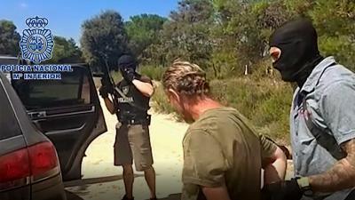 arrestatie Jos B Spanje policia