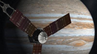 NASA-sonde Juno veilig aangekomen bij Jupiter