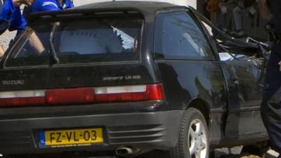 Foto van auto Karst T. na aanslag Apeldoorn   Eveline de Wil