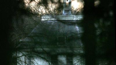 Foto van kasteel Drakensteyn | Archief EHF