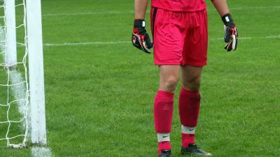 Foto van keeper doelman voetbal | Archief EHF