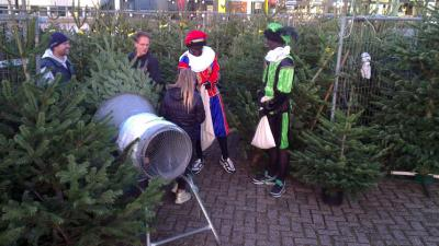 foto van verkoop kerstboom | fbf
