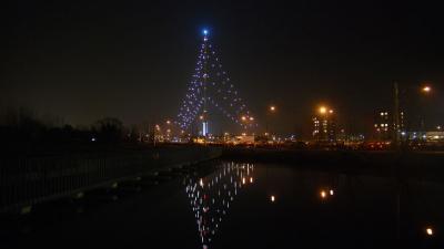 Ook 2014 weer grote kerstboom bij IJsselstein