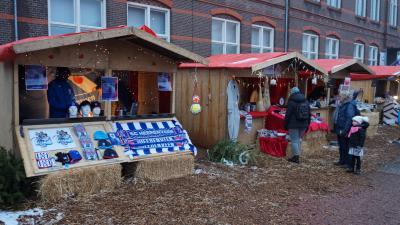 Kerstmarkt Heerenveen druk bezocht