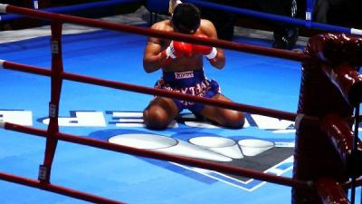 Foto van bokser | Archief FBF.nl